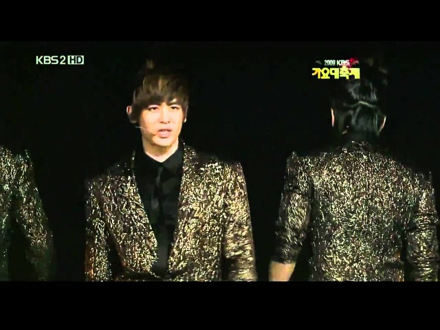 [HD] 2PM - Heartbeat I Hate You (Remix Ver) [2009 KBS Gayo Daejun] Part 5/6