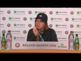 French Open 2016: Simona Halep Round 4 Post Match Interview