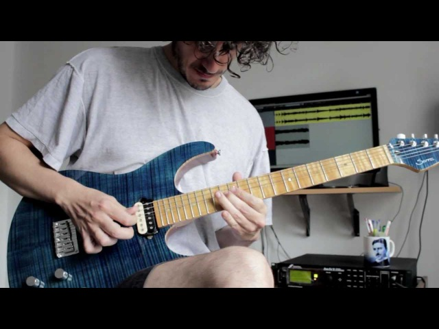 Greg Howe Button up cover (complete HD version) by Pablo Guaschino