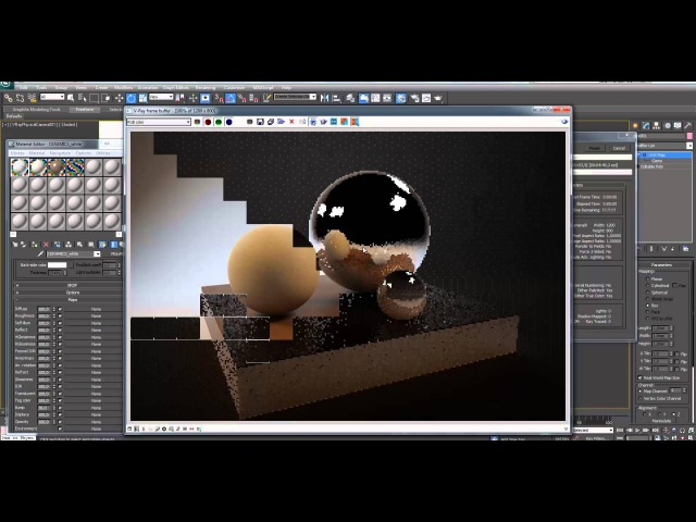 Работа с рендер студией Урок 3D Max Бесплатный курс Быстрый старт в 3Ds Max день 4