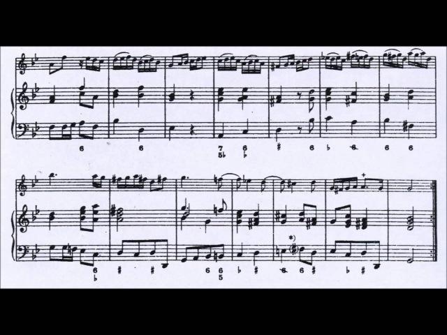 G.P. Telemann: Partita in sol minore per Oboe e Continuo (Organo)