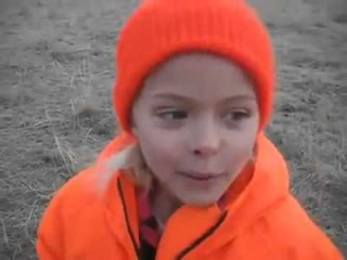 Little girl experiences buck fever for the first time!!!
