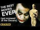 The Best Movies Ever Got Screwed at the Oscars - Todays Topic