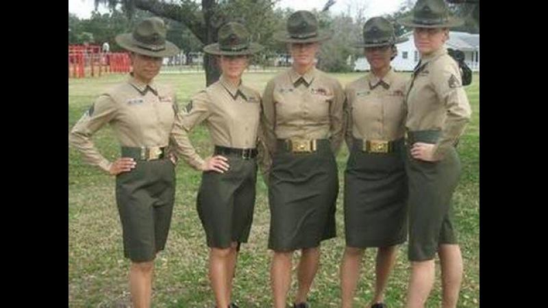 Marine Female Drill Instructor goes berserk!