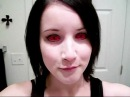 Inserting and Removing Red Sclera Contact Lenses (Plus FAQ!)