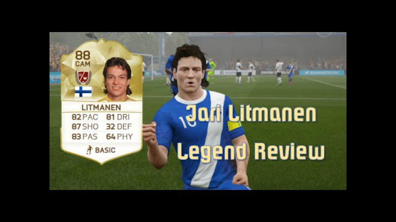 FIFA 16 - Jari Litmanen - Legend Review