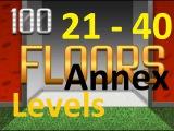 100 Floors annex - Level 21 - 40 (21 - 40 уровень) прохождение