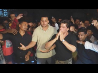 Shahrukh Khan At Filmfare Editor Jitesh Pillaai's Birthday Party