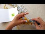 A Little C2C Crochet Yarn Trick