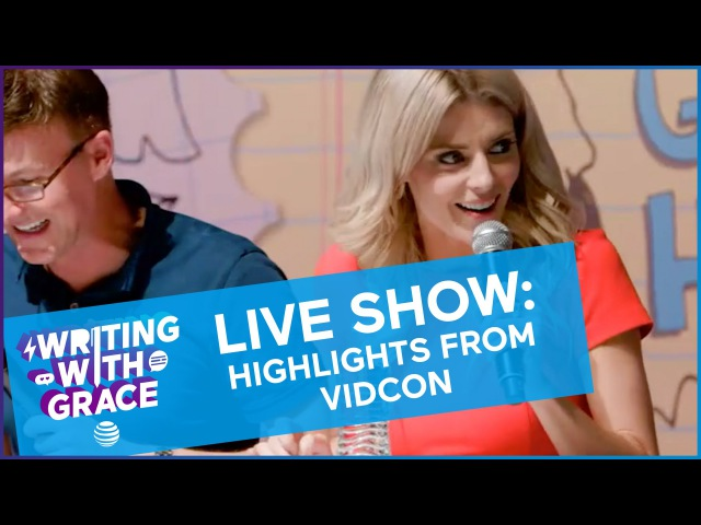 Writing With Grace LIVE SHOW Highlights from Vidcon / WWG EP 9 Grace Helbig
