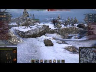 World Of Tanks Как Играть на Черепахе 7 Фрагов и 7,000 Урона на T95