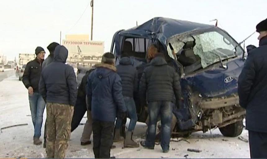 Количество ДТП в Якутии растет
