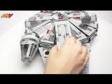 Обзор Лего Звездные Войны Сокол Тысячелетия - 75105 - Lego Star Wars Millennium Falcon