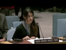 2015 12 21 A young Yazidi woman Nadia Murad Basee Taha begs the UN Security Council to wipe out ISIS