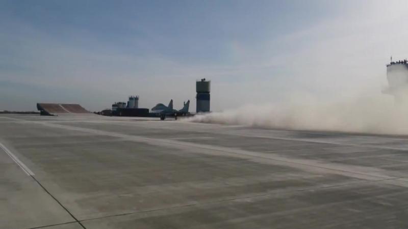 Takeoff MiG-29K, NITKA, Yeisk