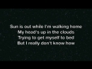 Alex Clare - Up All Night (Lyrics)