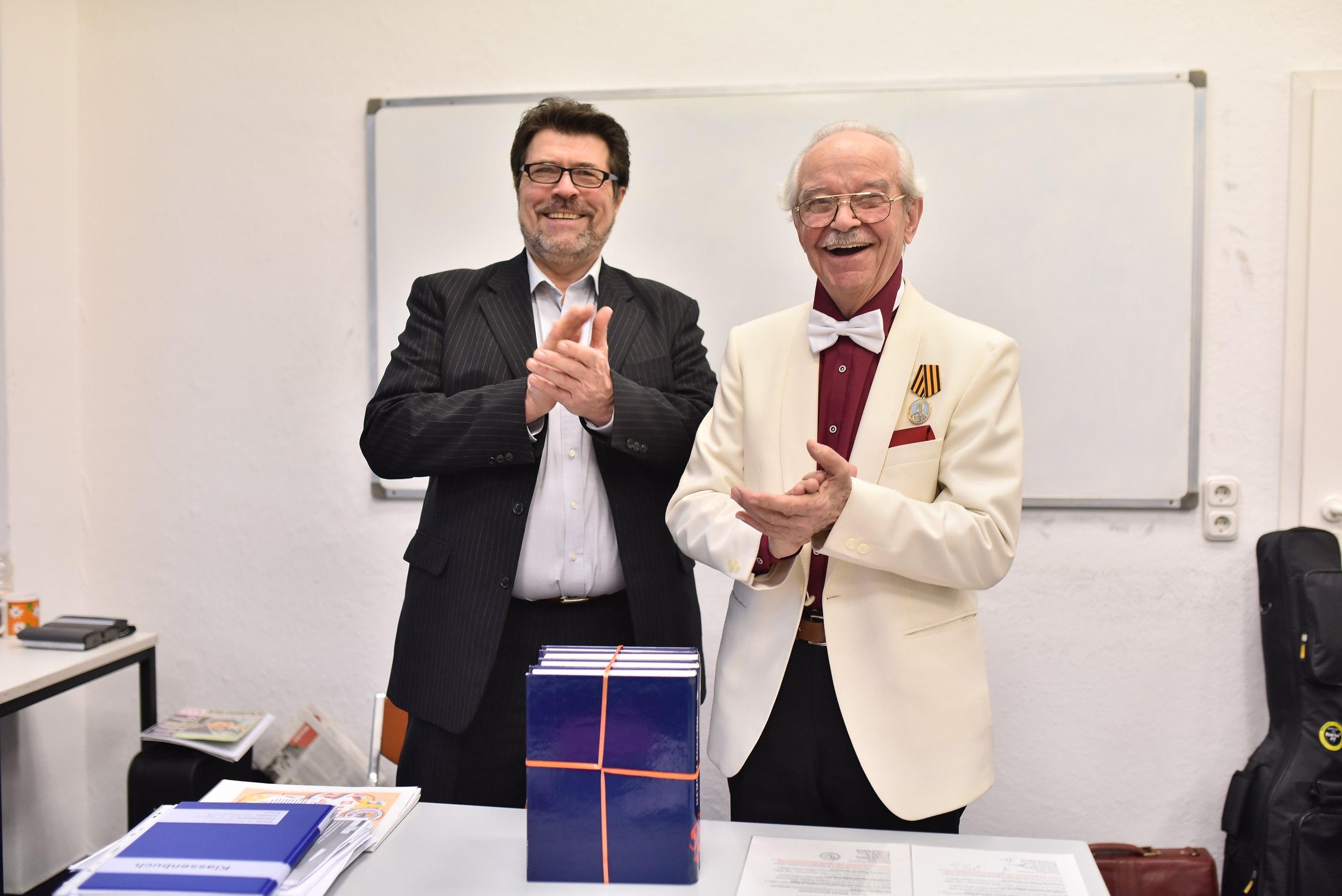85-летний юбилей Вилли Мунтаниола!