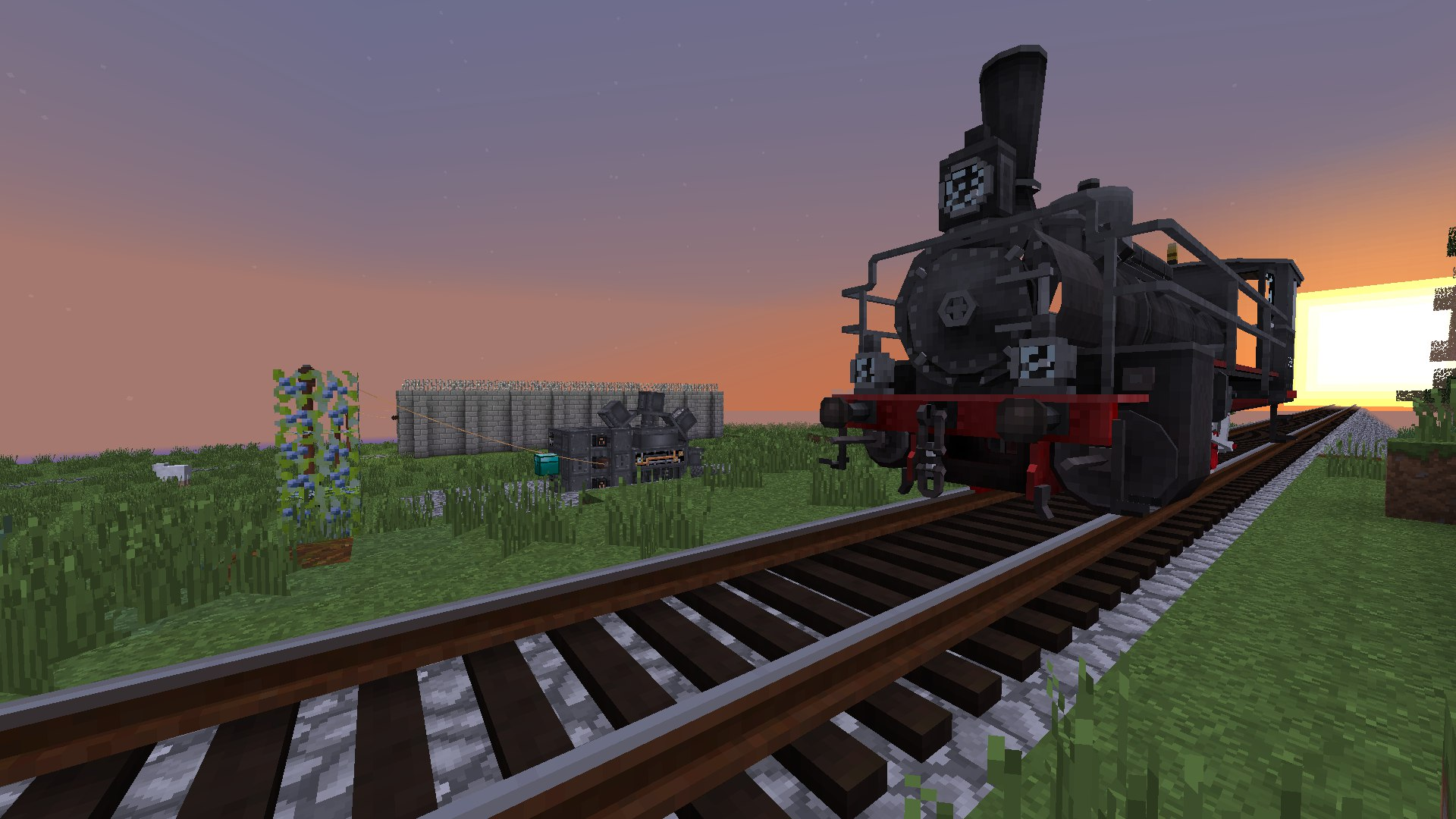 how to get a train mod on minecraft