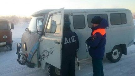 Рейд на Зеленом лугу по недопущению несанкционированных выездов на лед