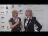 Интервью Вики Цыгановой на Estet Fashion Week -