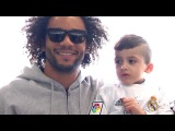 Ahmad fulfils one of his dreams when he meets the Real Madrid players