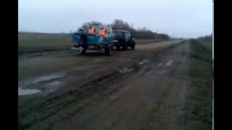 Новый вид транспорта для дорог Самойловки