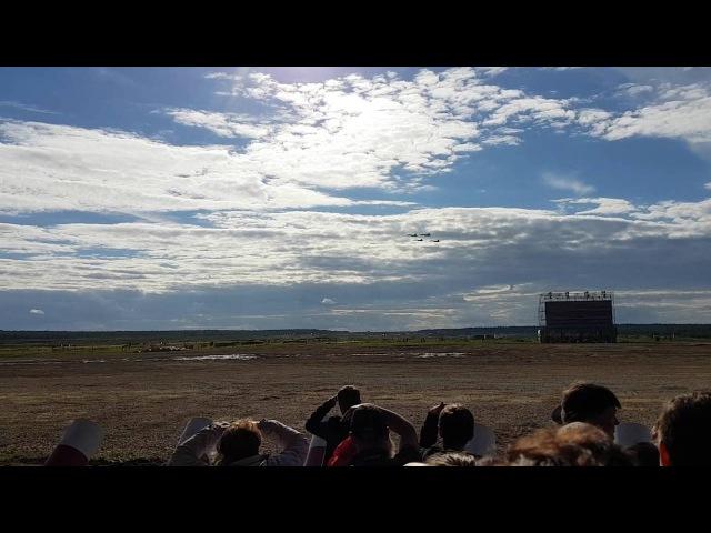 10 09 16 Армия 2016 Русские витязи Ромбик, петля Нестерова, роспуск