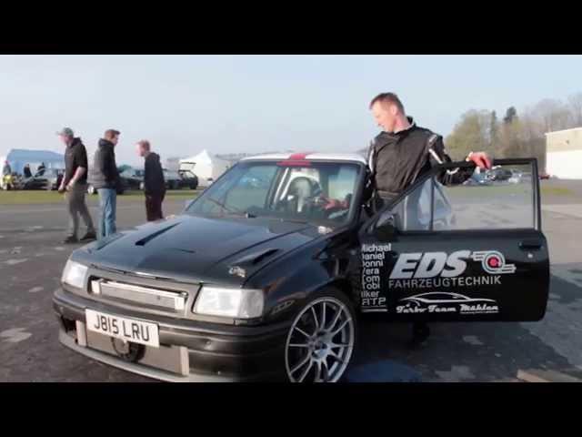 Boost beast / bimotor corsa a / efr 1/4mile - Meschede 2014