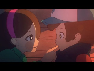Аниме Gravity Falls - Близнецы Навсегда [Twins Forever - Animation] [RUS]