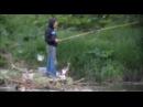 Любимый КОТ РЫБАКА рыбачит вместе с хозяином СМЕШНЫЕ КОТЫ И КОШКИ приколы на рыбалке 2016