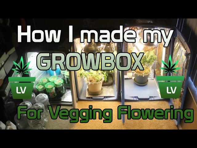 How I made my Grow Box for Vegging and Flowering :) LV » Freewka.com - Смотреть онлайн в хорощем качестве