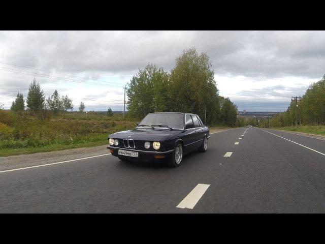 BMW Е28 идеальная АКУЛА !