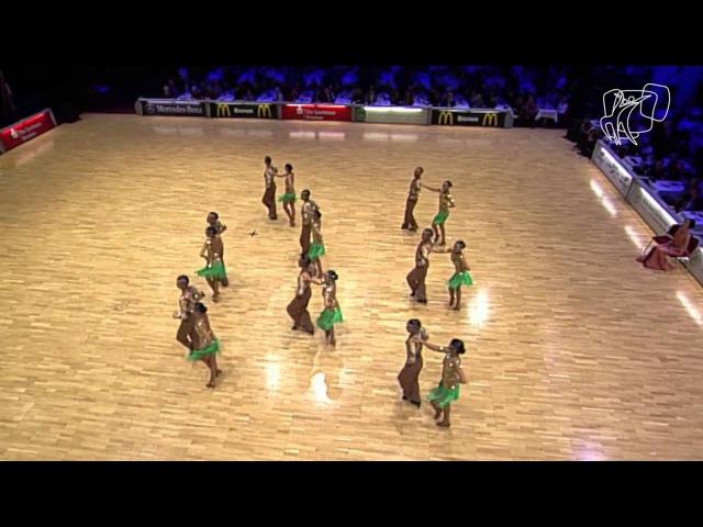Moon Dance, MGL | 2014 World Formation Latin | DanceSport Total