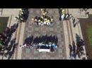 Акция студентов КНУ в День памяти жертв геноцида крымскотатарского народа