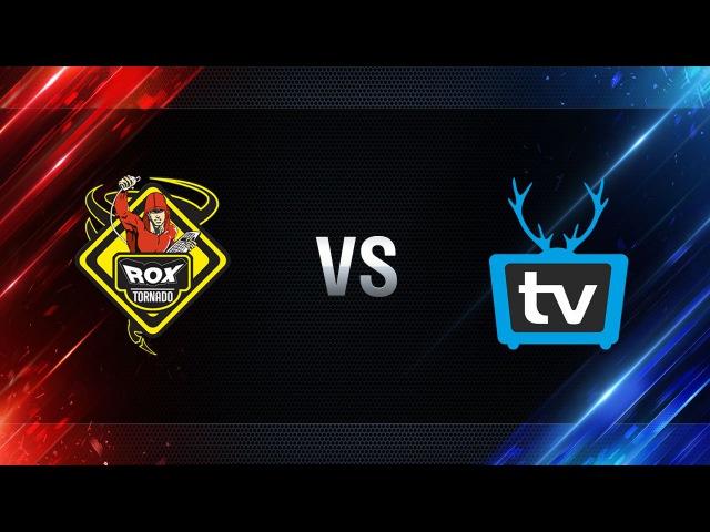 TORNADO.ROX vs WePlay - day 3 week 6 Season I Gold Series WGL RU 2016/17