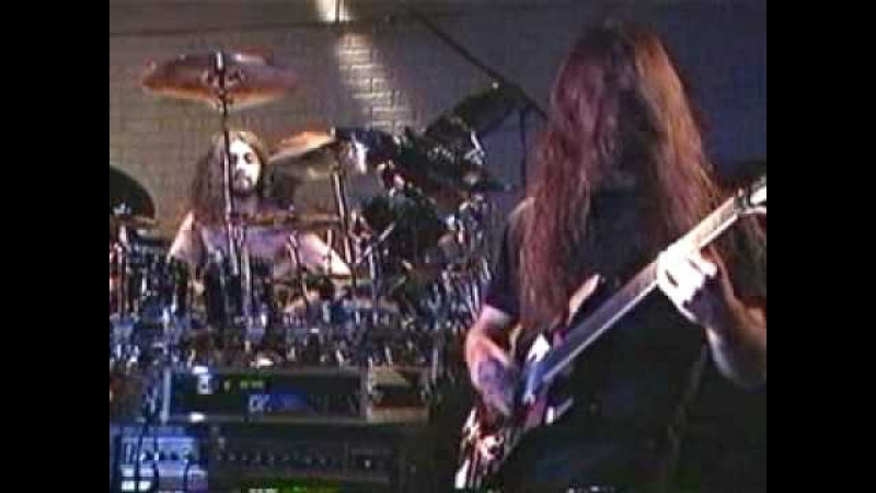 Dream Theater With Barney Of Napalm Death - Damage Inc (Live 1995 Metallica Cover)
