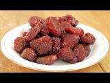 Цукаты из клубники - делаем сами! How to make Candied strawberries