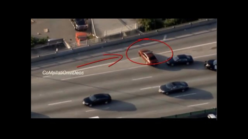 Recent New/Police Chase in Los Angeles-America (USA) Compilation/august 2015 [part 4]