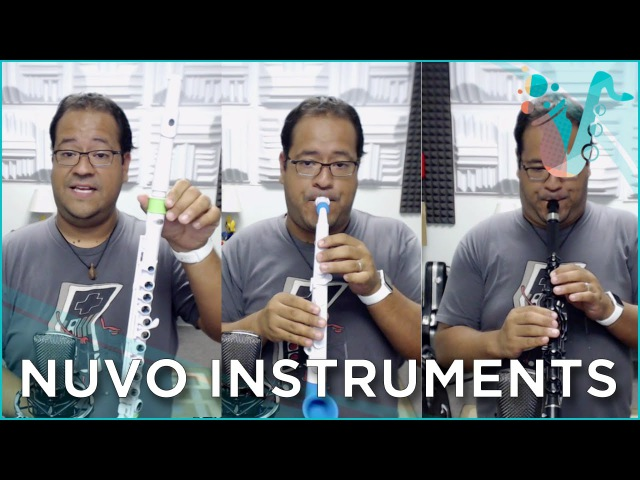 Clarinéo, jSax, and Student Flute Review (From Nuvo Instruments)