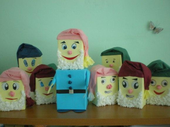Поделка гномик для детского сада