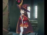 нашная аниме девка делает вещи с палкой под хорошую музыку