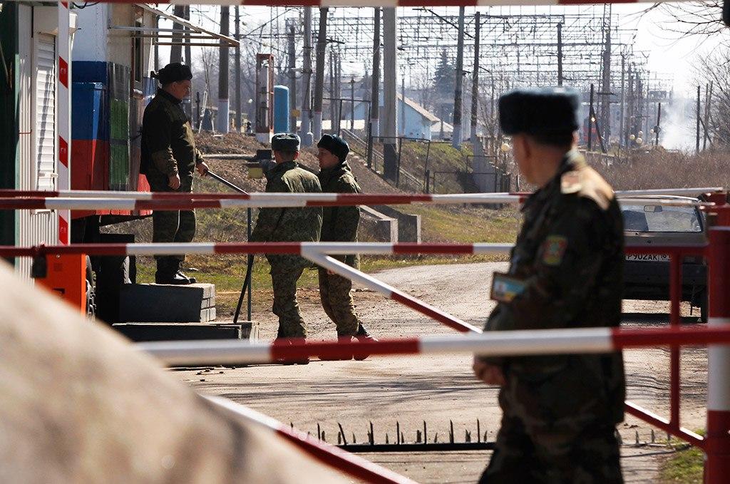 ВВ МВД РФ подтвердили задержание своих военных на границе с Украиной