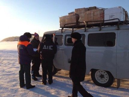 """Операция """"Ледовая переправа"""": рейды проведены в  Якутске и  5 улусах Якутии"""