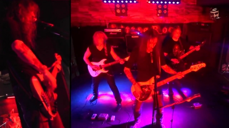 Железный Поток-Shoot to Thrill (AC DC cover) Live in Little Rock (c) 2015