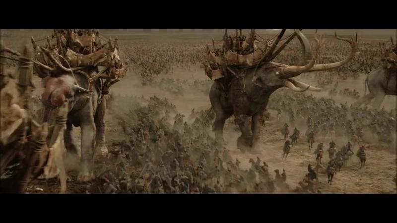 Властелин Колец Возвращение Короля The Lord of the Rings The Return of the King 2003 Битва на Пеленнорских Полях Харадрим