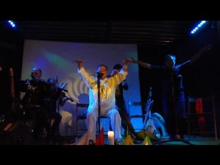 Ноябрь 2015, Шаманский концерт Ооржак (отец и сын) и Тюрген Кам (7)
