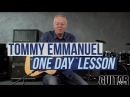 Tommy Emmanuel Martin Taylor's One Day Acoustic Lesson