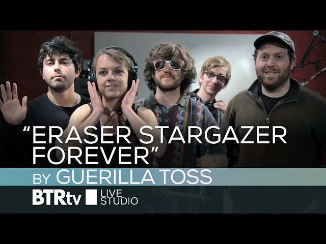 """Eraser Stargazer Forever"" by Guerilla Toss - BTR Live Studio [ep513]"