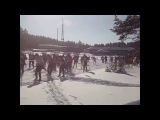 Лыжня России 2016 и первый выезд на самодельном снегоходе.