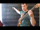Теория Построение простой басовой линии Лады Ионийский дорийский